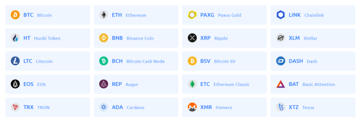Cryptocurrency support for Turbocharge