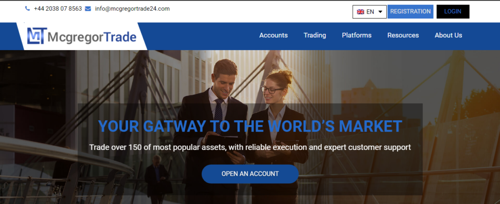 McGregorTrade (McGregorTrade24.com) Review: This Forex Broker Does Not Have A License